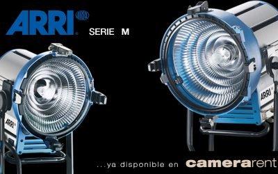 ARRI HMI serie M disponible en camera studio